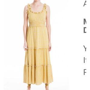 Max Studio Summer Dress Sz L NWT